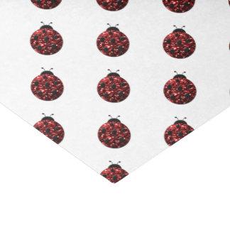 Funkelndes rotes Glitzern Seidenpapier