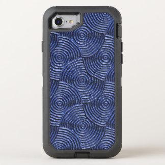 funkelndes starkes Metall, Blau (i) OtterBox Defender iPhone 8/7 Hülle