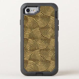 funkelndes starkes Metall, goldenes (i) OtterBox Defender iPhone 8/7 Hülle