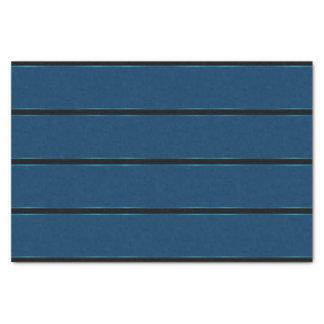 Funken der metallischen starken blauen Streifen Seidenpapier
