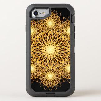 Funken-Mandala OtterBox Defender iPhone 8/7 Hülle