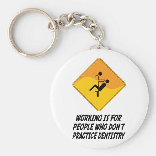 Funktion ist für Leute, die nicht Zahnheilkunde üb Schlüsselanhänger