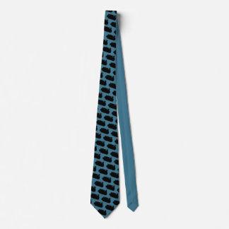 Funktionierende Ingenieur-Planierraupen-Vintage Individuelle Krawatte