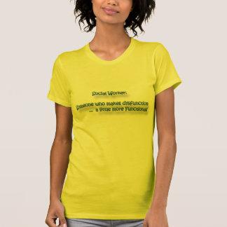 Funktionsstörungs-Kreuzung T-Shirt