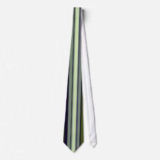 Funky 60er Erdton-Streifen Personalisierte Krawatten