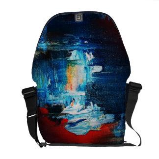 Funky abstrakte Kunst-Tasche! #4 Kurier Tasche
