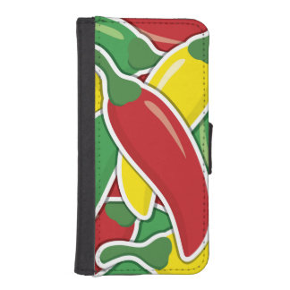 Funky Ampel-Paprika-Paprikaschoten I Phone 5 Portmonees