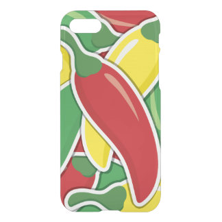 Funky Ampel-Paprika-Paprikaschoten iPhone 7 Hülle