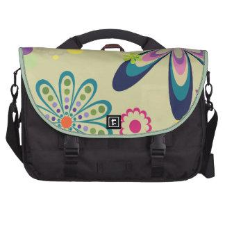Funky Blumenpendler-Laptoptasche