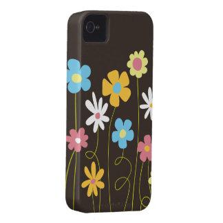 Funky Frühlings-Blumen iPhone 4 Hüllen