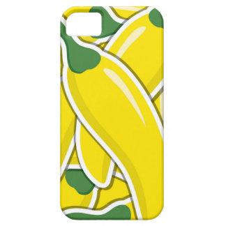 Funky gelbe Paprika-Paprikaschoten iPhone 5 Etui