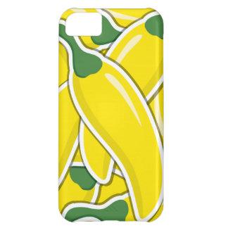 Funky gelbe Paprika-Paprikaschoten iPhone 5C Hülle