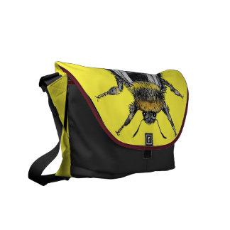 Funky Hummel-Wasserfarbe-Tasche Kuriertaschen