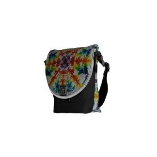 Funky Krawatte gefärbte Rickshaw-mini nullbote-Tas Kuriertaschen