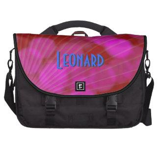 Funky lila Laptop-Taschen-Schablone Laptoptasche