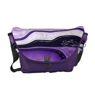 Funky lila nullbote-Tasche Kurier Taschen
