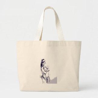 Funky Mädchenentwurfszeichnen Einkaufstaschen