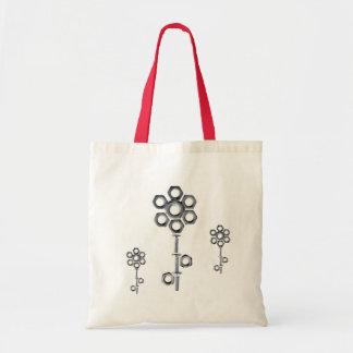 Funky Nuts&Screws Blumen-Tasche