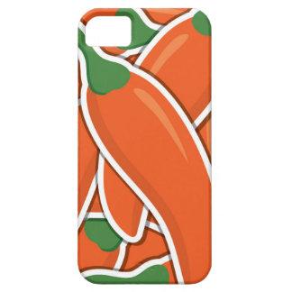 Funky orange Paprika-Paprikaschoten Schutzhülle Fürs iPhone 5