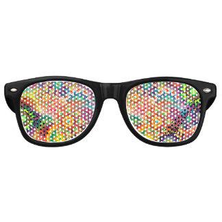 Funky Retro Muster-abstrakter Böhme Partybrille