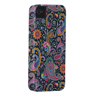 Funky Retro Vintager Paisley iPhone 4 Fall Case-Mate iPhone 4 Hüllen