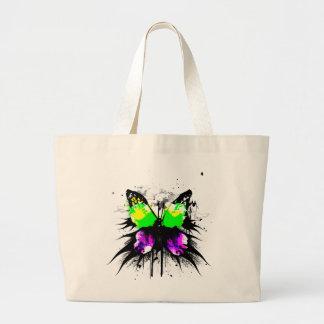 Funky Schmetterlings-Tasche Jumbo Stoffbeutel