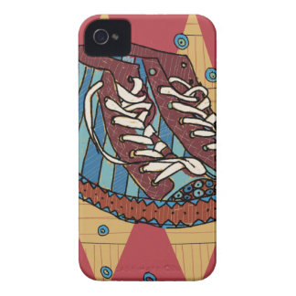 funky shoes iPhone 4 cover