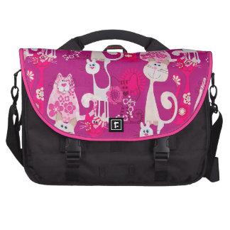 Funky Spaß-coole Katzen-Laptop-Tasche Laptop Taschen