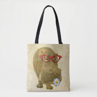 Funky Spaß-Flusspferd-Taschen-Tasche! Tasche