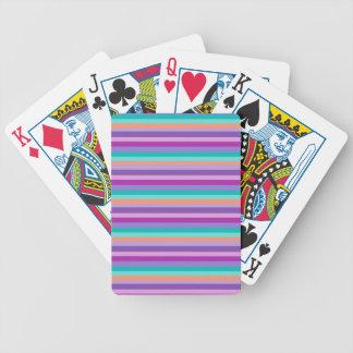 Funky Streifen Bicycle® Poker-Spielkarten Bicycle Spielkarten
