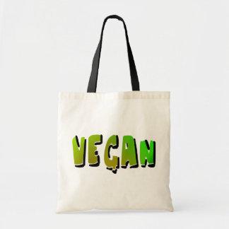 Funky veganes mit Schattierung Budget Stoffbeutel
