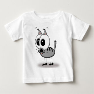 funny cat baby t-shirt