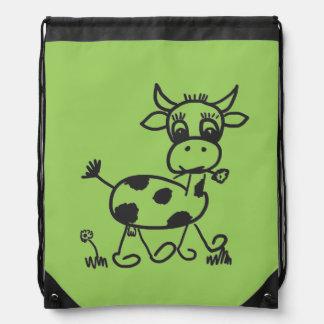 Funny Little Cow – Sportbeutel farbig