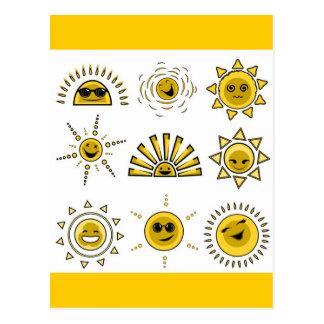 funny_sun2 postkarten