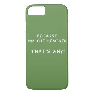 Funny Teacher iPhone Case