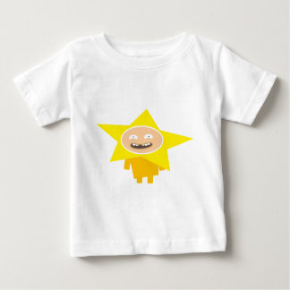 FUNNY XMAS STAR BABY T-SHIRT
