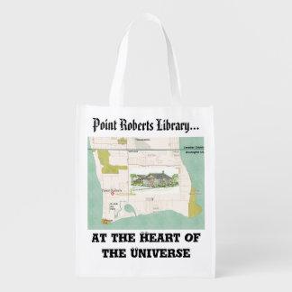 FunRaiser Bibliothek Pints Roberts NEUE Tasche Wiederverwendbare Einkaufstasche