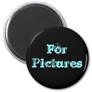 Für Bilder Runder Magnet 5,7 Cm
