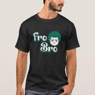 Für Bro dunkelgrün u. weiß T-Shirt