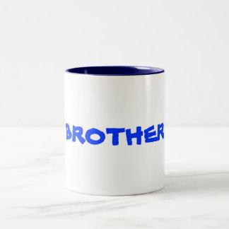 Für BRUDER gießen Sie frère SEIDIGE Farbpalette Zweifarbige Tasse