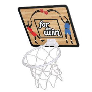 Für den Gewinn Mini Basketball Ring