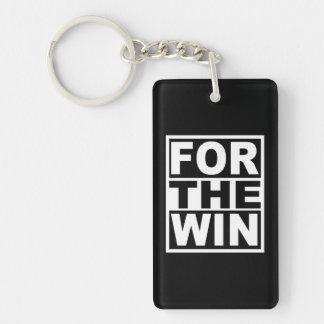 Für den Gewinn Schlüsselanhänger