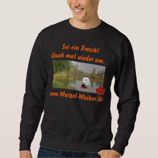 Für den modebewußten Weiherfrosch Sweatshirt
