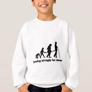 Für Desaster gerade vorangehen Sweatshirt