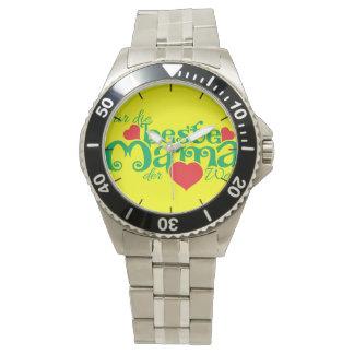 Für die beste Mutter der Borte Uhr