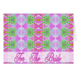 Für die Braut Grußkarte