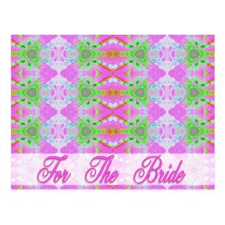 Für die Braut Postkarte