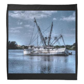 Für die die Liebe der Ozean und die Boote Kopftuch