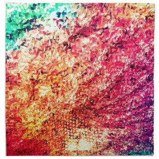 Für die Liebe der Farbe - Kaleidoskop Stoffserviette