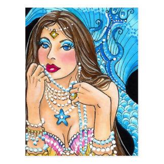 Für die Liebe der Perlen Postkarte